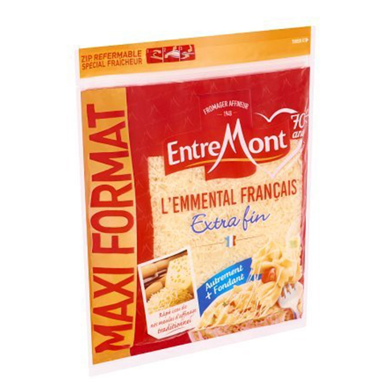 Emmental Grated Extra Thin
