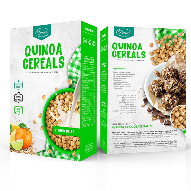 Quinoa Cereals Citrus Bliss